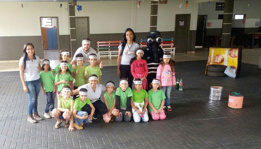 Equipe de endemias realizou atividades de conscientização em escolas municipais e centros de educação infantil