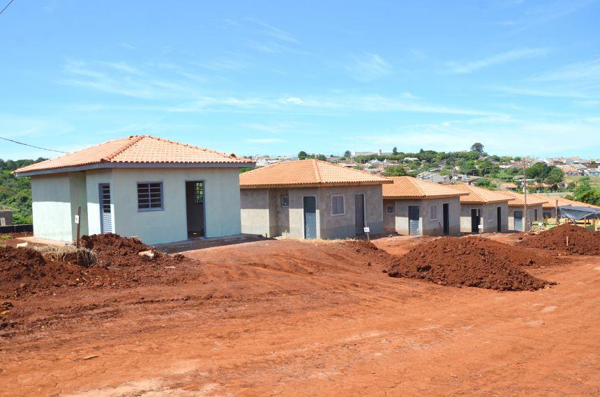 Edificação das casas do Parque das Flores está em ritmo acelerado