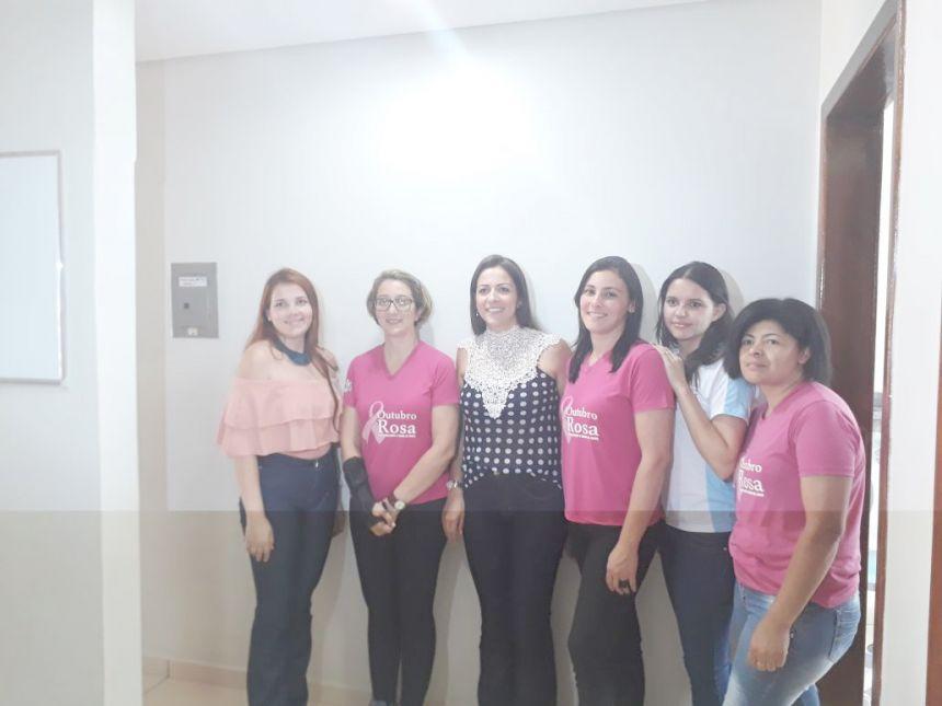 Mulheres de Yolanda participam atividades do Outubro Rosa