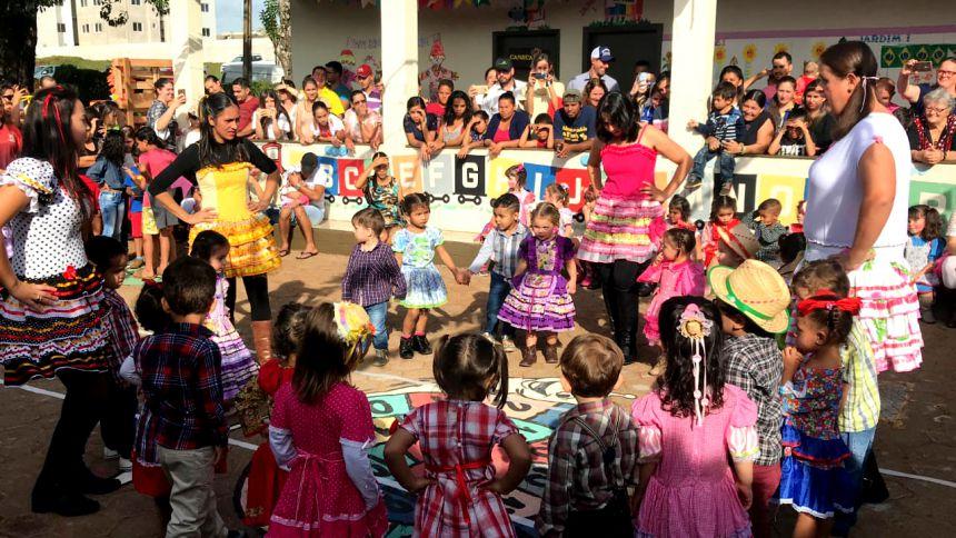 CMEI Nosso Lar realizou Festa Junina