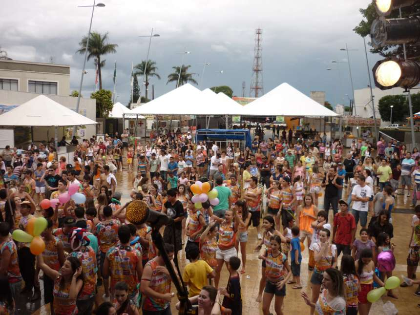 O Carnaval da Seringueira foi uma grande festa neste início de mandato