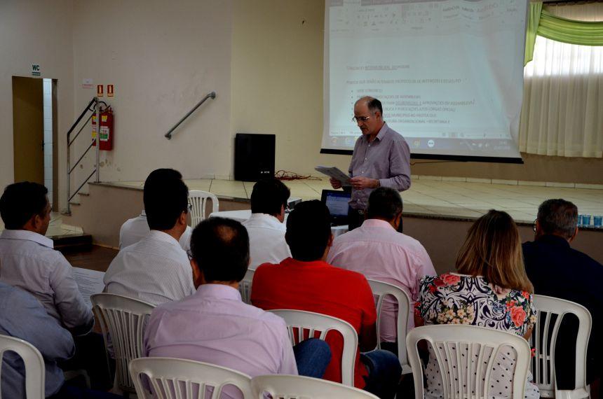 Ubiratanenses participam de reunião do Consórcio Intermunicipal Vale do Piquiri em Nova Aurora