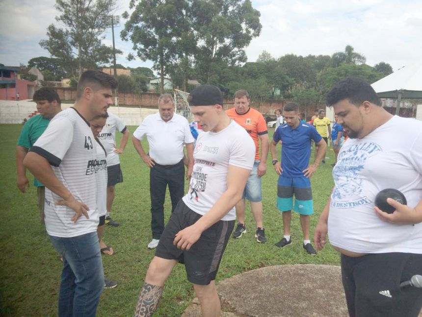 Atletismo no JAMUs movimentou domingo esportivo no Estádio Claudinão