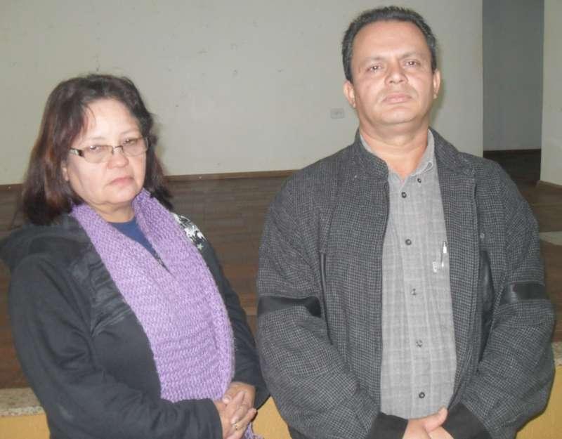 Os representantes das associações urbanas são Adriana Ferreira da Silva e Gerson de Souza Delfino