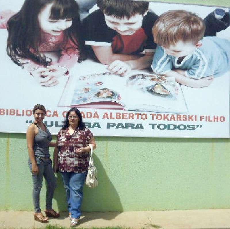 Nathieli Mello e Aumira Dantas representaram Ubiratã nesse encontro regional