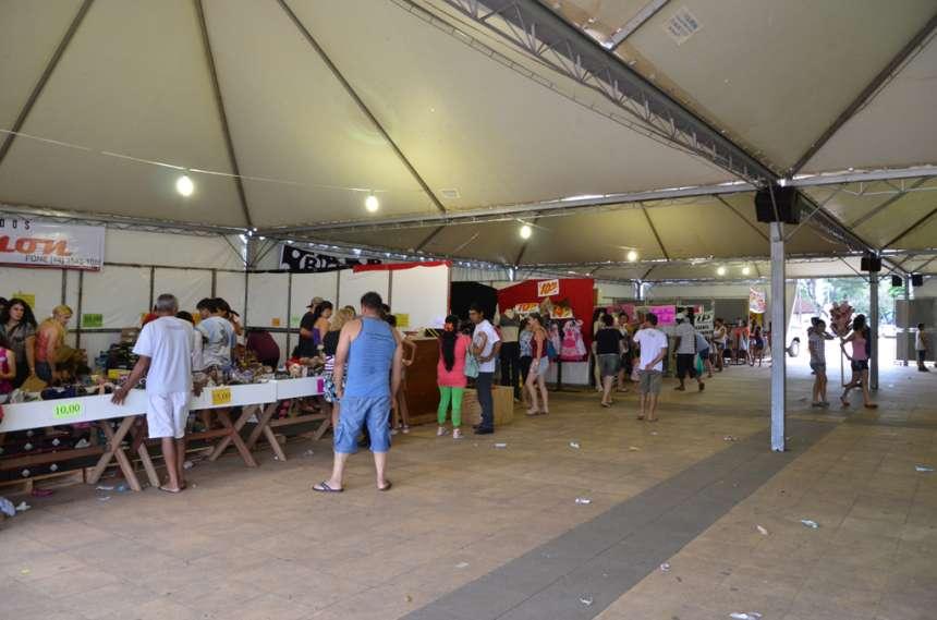 Centenas de pessoas visitaram a feira em seus dois dias