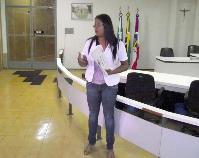 A audiência foi conduzida pela secretária de Saúde, Cristiane Pantaleão