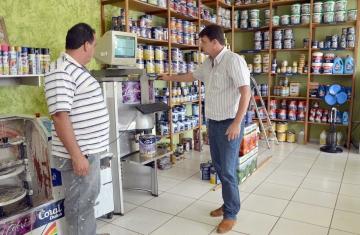 Comércios que oferecem produtos ou serviços para a construção de residências estão em alta no município