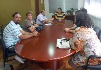 Constantemente o prefeito reune-se com os vereadores para tratar de questões voltadas a melhorias de Ubiratã e dos ubiratanenses