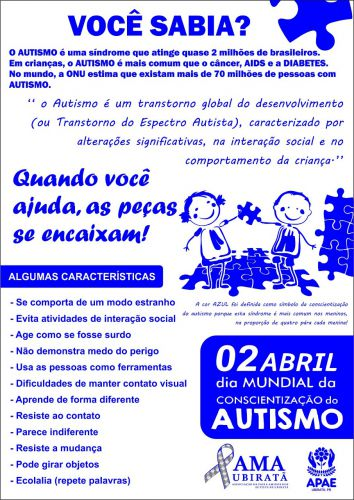 Semana de Conscientização ao Autismo