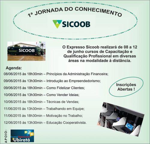 O Expresso Sicoob realizará de 8 a 12 de