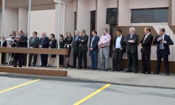 Prefeito Baco foi um dos convidados especiais para a instalação oficial da comarca em Nova Aurora