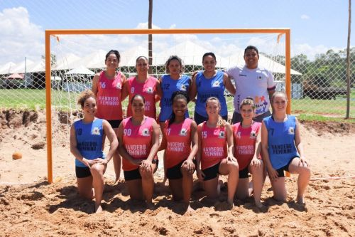 Handebol de areia de Ubiratã é vice-campeão da Copa Paraná de Handebol de Areia