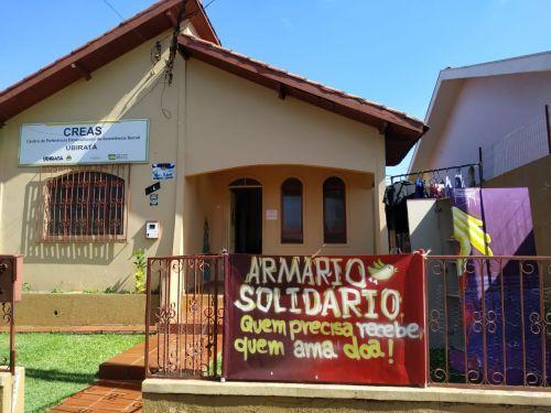 """Armário Solidário: """"Quem precisa recebe, quem ama doa"""""""