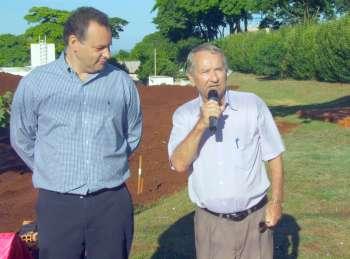 Pioneiro Vilder Bordin emocionou-se ao lembrar de quando chegou à Ubiratã