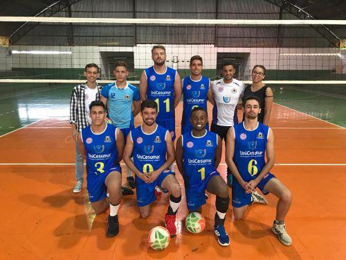 Ubiratã sai na frente na 1ª Copa de Voleibol Trainer/Fecam de Campo Mourão