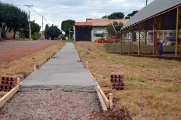 As melhorias que são feitas atendem reivindicação dos moradores do bairro