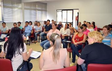 Participaram da reunião, os responsáveis pela Comissão de Recebimento de Produtos nomeados conforme Portaria da Secretaria da Educação