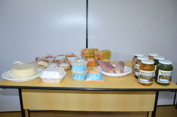 Produtos que são fabricados pelos agricultores familiares ubiratanenses e comercializados para a população