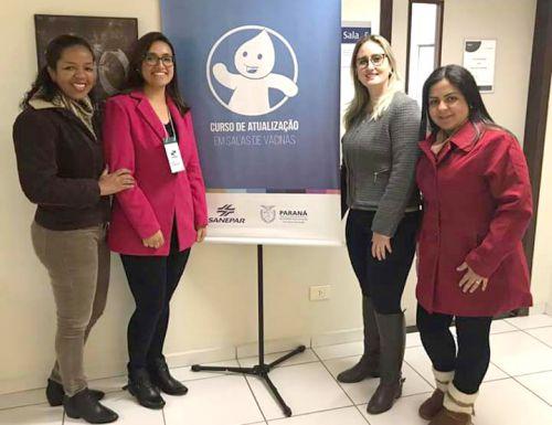 Enfermeira responsável pela Vigilância Epidemiológica participa de Capacitação em Sala de Vacina