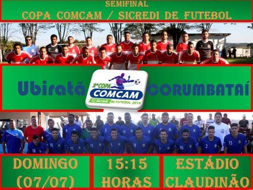 Ubiratã enfrenta Corumbataí do Sul neste domingo no Claudinão pela semifinal da Copa Comcam/Sicredi