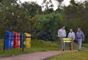 Prefeito Baco avaliou toda a estrutura atual do Parque da Cidade
