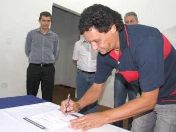 José Martins assinou como testemunha do Conjunto Habitacional