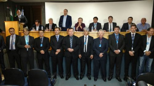 Prefeito Baco participou da eleição que definiu novo presidente da Amop