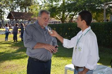 O prefeito de Ubiratã, Haroldo Fernandes Duarte, a