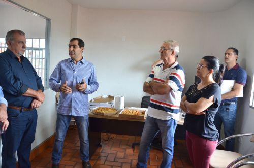 Lideranças de Ubiratã visitam a indústria de processamento de alimentos BV Foods