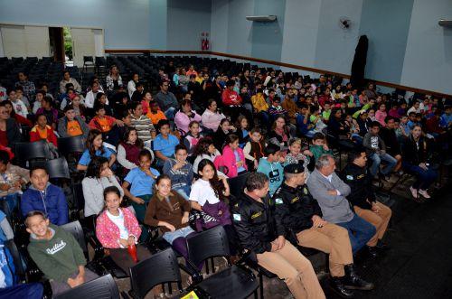 Aula inaugural do PROERD em Ubiratã