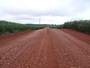 Na Estrada Mato Grosso serão mais de cinco quilômetros beneficiados