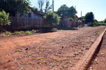Com a regularização essa parte da cidade poderá no futuro receber pavimentação asfáltica