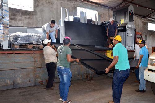 Ubiratã recebeu novos e modernos equipamentos para coleta seletiva de resíduos sólidos