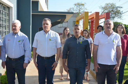 Encerramento oficial da Semana da Pátria em Ubiratã