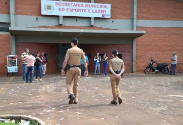Policiais Militares realizaram patrulhamento em todos os locais de votação