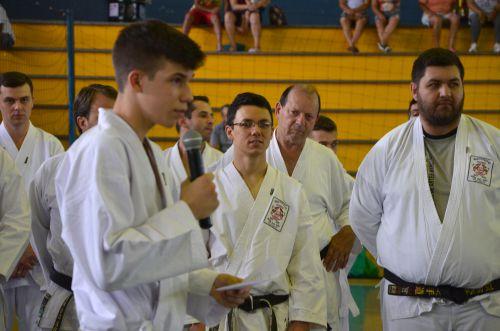 Deputado Tiago Amaral prestigiou competições de artes marciais dos JAMUs 2018
