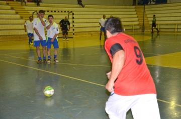 Jogos da primeira rodada aconteceu no Ginásio de Esportes e teve muitos gols