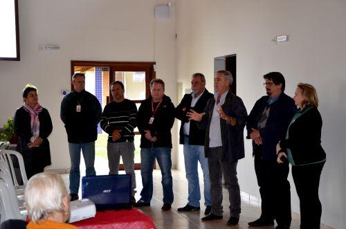 Agricultores da Estrada João Pereira participam de reunião com integrantes da Itaipu