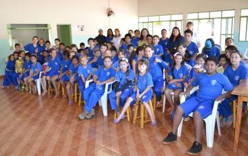 O Programa atende 120 educandos em contraturno escolar