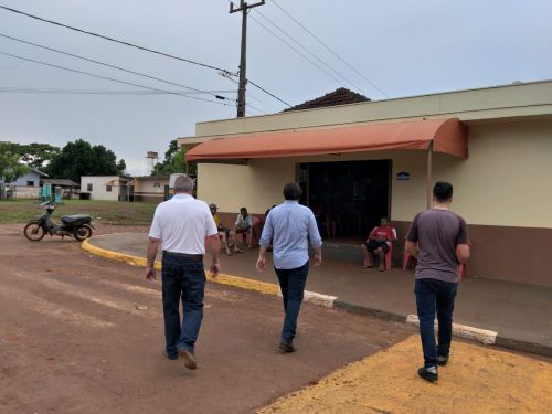 Deputado Tiago Amaral visita Yolanda para agradecer votação e reafirmar compromisso com o Distrito