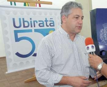 Deputado estadual Douglas Fabrício parabenizou Ubiratã e todos os ubiratanenses