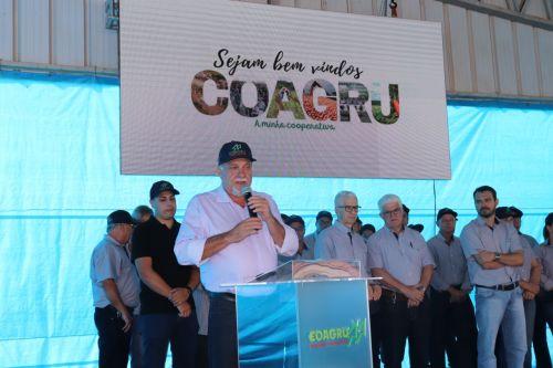 Cooperativa Coagru realizou mais um Dia de Campo
