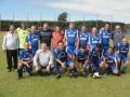 Equipe de Ubiratã junto com prefeito de Boa Esperança