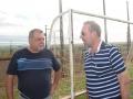 Prefeito Baco e o prefeito de Boa Esperança, Cláudio Gotardo que tabém é presidente da Comcam