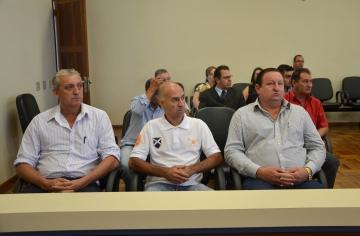 Vereadores participaram da reunião