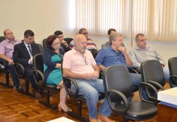 Advogados que atuam em Ubiratã presentes na reunião