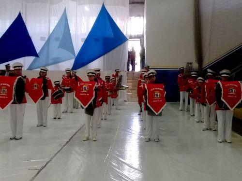 Município adquiriu instrumentos para fanfarras municipais que tem se destacado em toda região