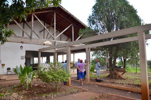 Iniciada a reforma do Centro de Convivência de Idosos