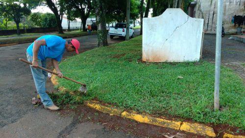 Serviços Urbanos atuando para deixar Ubiratã cada vez melhor para todos